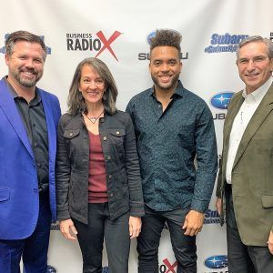 SIMON SAYS, LET'S TALK BUSINESS: Kelli Clay of Kelli Clay, Inc., Will Nobles of Vector Choice Technology Solutions, and Javier McIntosh of McIntosh Bros Productions