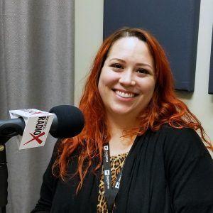 Amanda Sett with Fasturtle Digital in the Valley Business Radio studio in Phoenix, Arizona