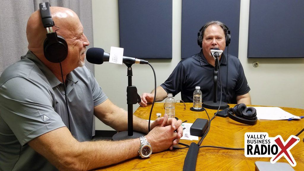 Mark Roden and Rick Ueable with Subway Kids & Sports of Arizona speaking on Valley Business Radio in Phoenix, Arizona
