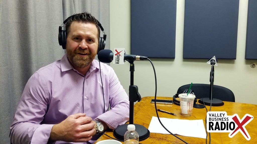 Trevor Wilde with Wilde Wealth Management Group speaking on Valley Business Radio in Phoenix, Arizona