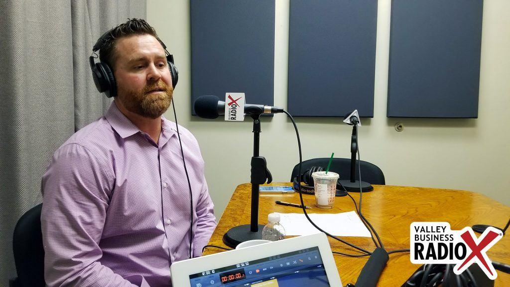 Trevor Wilde with Wilde Wealth Management Group talking on Valley Business Radio in Phoenix, Arizona