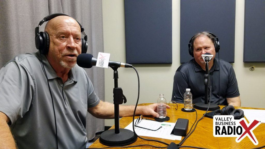 Rick Ueable and Mark Roden with Subway Kids & Sports of Arizona speaking on Valley Business Radio in Phoenix, Arizona