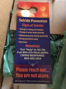 Suicide Prevention - Signs of Suicide