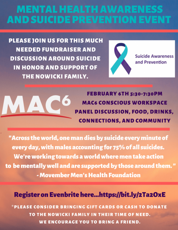 suicidepreventionandmentalhealthawarenessevent