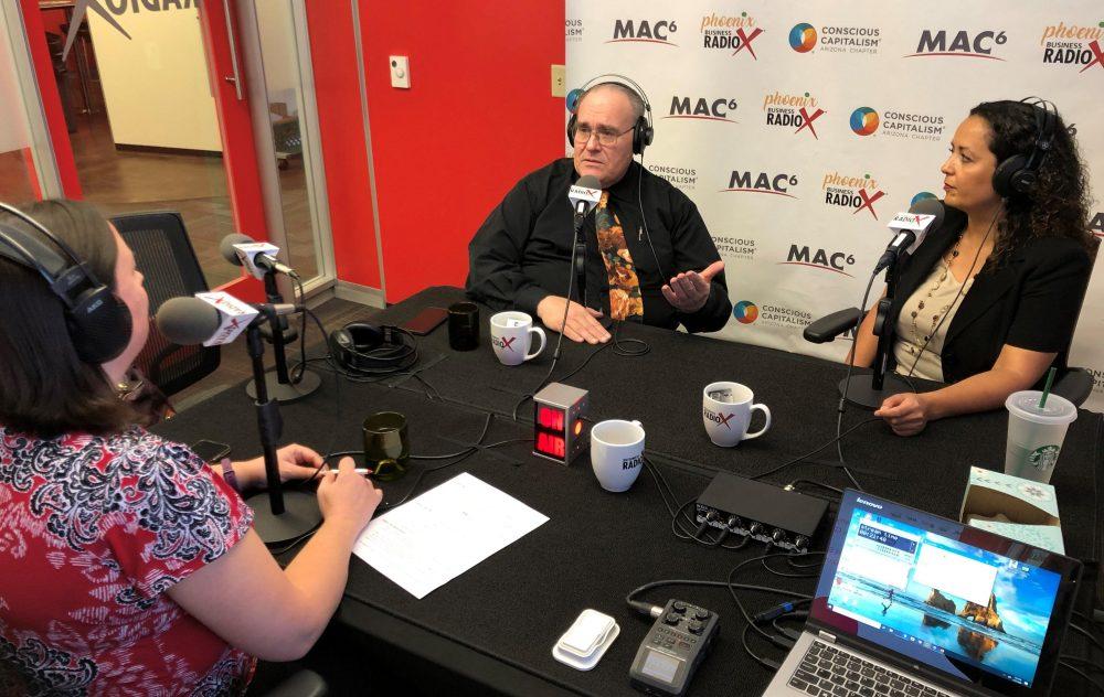 Candice Liozu with Foster360 and Robert Rhoton with Arizona Trauma Institute E31
