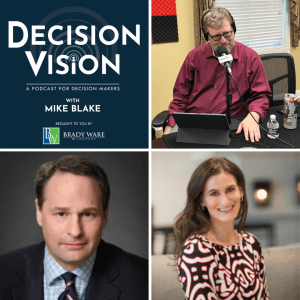 Decision Vision Episode 57, How Do I Secure Data for Work at Home Employees? – An Interview with Justin Daniels, Baker Donelson, and Jodi Daniels, Red Clover Advisors