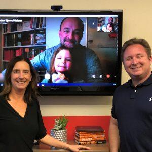 Christian Nielsen with uQualio® ApS and Erik Francis with Maverik Education E5