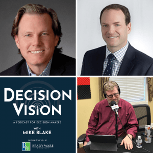 "Decision Vision Episode 61, ""How Do I Manage My Business Real Estate in a COVID-19 World?"" – An Interview with Brooks Morris and Andy Roberts, Cresa Atlanta"