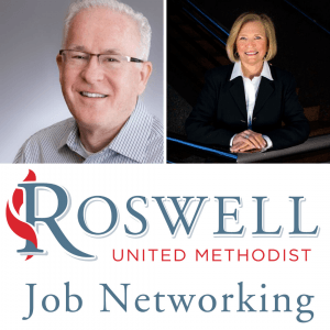 Jay Litton and Katherine Simons, RUMC Job Networking