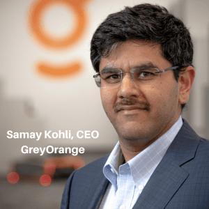 Samay Kohli, GreyOrange