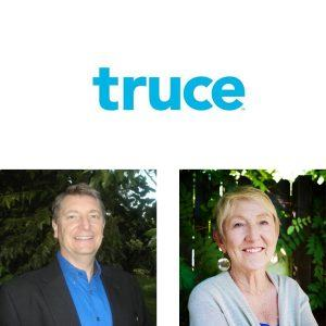 Truce Founder and CEO Diann Peart and Denis Leclerc E2