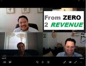 Simer Mayo with Valor Global and Roy Palomo with HotFoot Recruiters E1