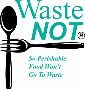 Kate Thoene with Waste Not and Danielle McMahon with Society of St. Vincent de Paul E34