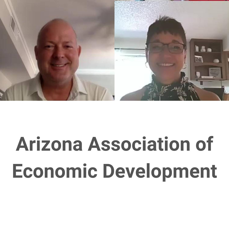 Arizona Association of Economic Development with Mignonne Hollis and Russ Yelton