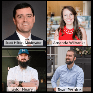 WellStar Chamber Luncheon Series:  Focus on Small Business Resilience and Opportunity – Ryan Pernice, RO Hospitality, Amanda Wilbanks of Southern Baked Pie Company, and Taylor Neary, Restaurant Holmes