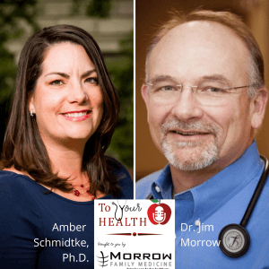 Amber Schmidtke, PhD., Microbiologist, Public Health Educator, and Science Writer – Episode 40, To Your Health With Dr. Jim Morrow