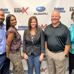 MARKETING MATTERS WITH RYAN SAUERS: Shelly Hoffman with Marbury Creative Group and Terry & Ayana Stinson with Spa Stinny