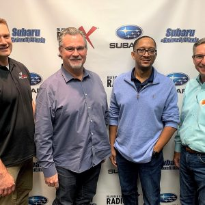 SIMON SAYS, LET'S TALK BUSINESS: Dan Wells with Signarama Buford/Duluth and Jeff Lantz & Brian Boston with C. L. Services