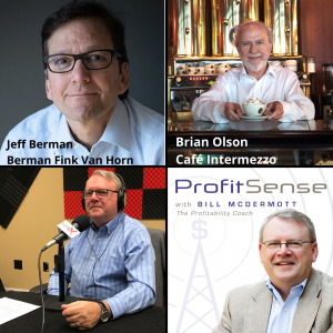 Jeff Berman, Berman Fink Van Horn P.C. and Brian Olson, Café Intermezzo (ProfitSense with Bill McDermott, Episode 15)