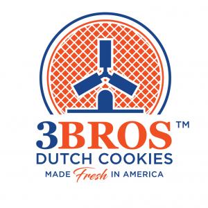 Guido Vliegen with 3Bros Dutch Cookies
