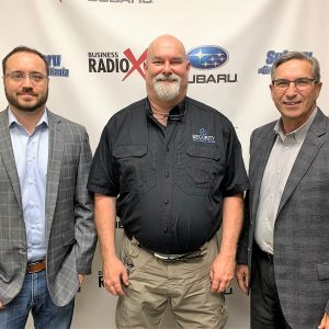 SIMON SAYS, LET'S TALK BUSINESS: Tricia Houston of MMR LIVE Experience Design, Josh Sweeney of FounderScale, and Larry Talbert of Talbert Insurance Services