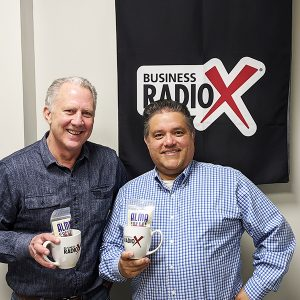 Tom Devaney with The Innovation Spot and Gary Acedo