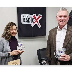 Ivonne Neri from Helados La Neta – High Road Craft Brands and Jeffrey L. Pittman from Piedmont Real Estate Group, Inc