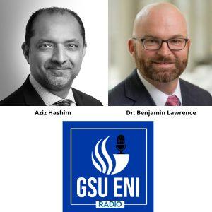 Aziz Hashim and Ben Lawrence with GSU Franchise Entrepreneurship