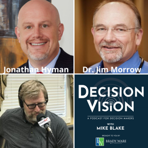 Decision Vision Episode 108: Should I Have My Employees Return to the Workplace? – An Interview with Employment Attorney Jonathan Hyman and Physician Dr. Jim Morrow