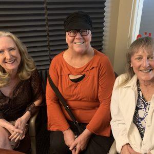 TMB E57: Marlee, Kim, Lorraine Cancer Awareness