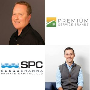 Kyle Squillario with SPC and Paul Flick with Premium Service Brands