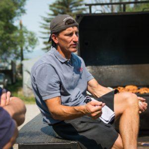 Jeff Kennedy with Moe's Original BBQ