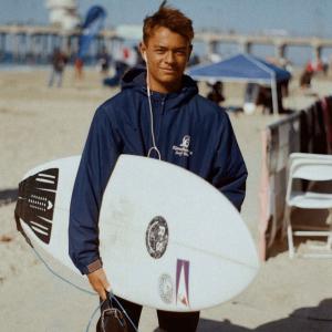 American Samoan Surfer Liam Wilson
