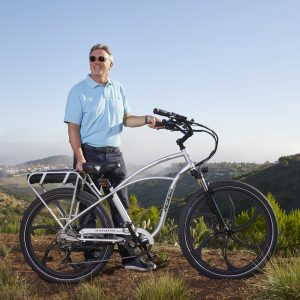 Don DiCostanzo with Pedego Electric Bikes