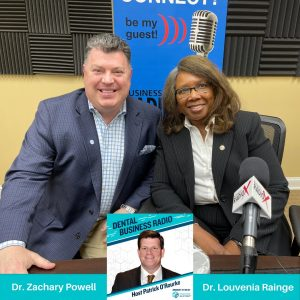 Georgia Dental Association:  President Dr. Louvenia Annette Rainge, Rainge Family Dental, and President-Elect Dr. Zach Powell, Powell Dentistry Group