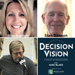 Decision Vision Episode 117: Should I Work for a Non-Profit? – An Interview with Elisa Goodwin, Mission: Hope, and Stan Dawson, Retired from Crossroads Community Ministries