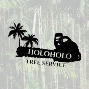 Keali'i and Carryssa Krzyska with Holoholo Tree Service