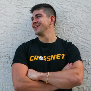 Chris Meade with CROSSNET