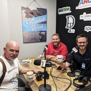 John Cloonan from Audacity Marketing, Zach Yokum from Mileshko, and Mike Christensen from The Voice Monkey