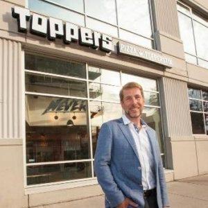 Scott Gittrich with Topper's Pizza