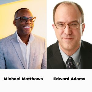 Edward Adams With Bloomberg Media Studios And Michael Matthews With Synchrony