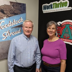 Coach Joe Noonan from Southwestern Consulting and Michelle Cleveland from NTC Lifeworks LLC
