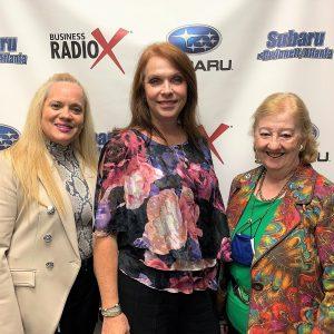 MOXIE AWARD WINNERS: Michelle Anglin, Jill Edwards and Lorri Christopher