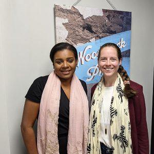 Kendrick Jones from Summit Funding Advisors and Tamara Lewis from Pink Pearl Hero